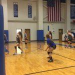 Freshman Volleyball Dominates Burleson!