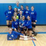 Loflin 7th Grade A Team wins Tournament