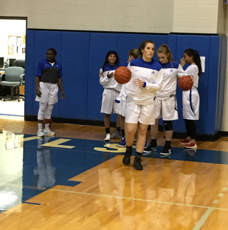 Freshman Carissa Stowe Leads JV Lady Owls with 12 Points, 8 Rebounds and 5 Blocks Vrs. Seguin!