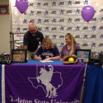 Joshua's Miranda Pruitt signs with Tarleton State softball!