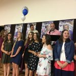 Freshman Volleyball Celebrated at Banquet