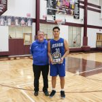 Congratulations to Robert Pesqueda for his selection to the All Tournament Team for his performance in the Annual Bridgeport High School Christmas Classic..