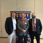 PSHS AD and Head Football Coach attend DI Rotary Breakfast