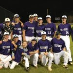 BASEBALL TEAM GOES ON THE ROAD FOR HISTORIC FIRST WIN