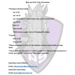 TRACK CONDITIONING SCHEDULE
