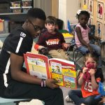 IRON HORSE FOOTBALL PARTICIPATES IN READ ACROSS AMERICA WEEK!