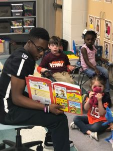 READ ACROSS AMERICA WEEK 2019- IRON HORSE FOOTBALL