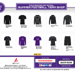 IRON HORSE FOOTBALL TEAM SHOP IS OPEN!