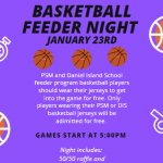 PSH Basketball Feeder Night-Jan 23rd