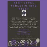 Next Level Athletic Info Night! Free To Attend! Feb. 19th 6pm!