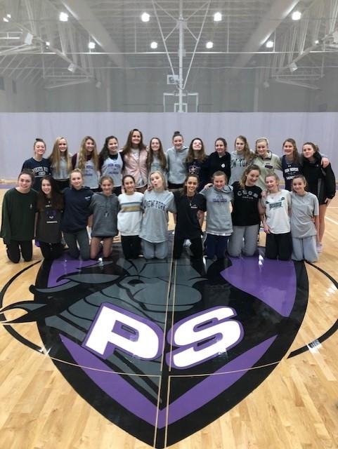 Girls JV Lacrosse home opener