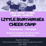 Little Iron Horse Cheer Camp