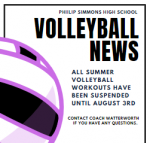 Important Volleyball Announcement