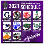 2021 FOOTBALL SCHEDULE HAS BEEN RELEASED!