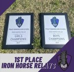 Track brings home the trophies