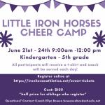 PSH Summer 2021 Cheer Camp