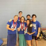 Warrior Swim Team Wins SCIAA Title