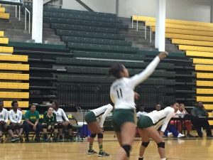 Volleyball vs Whitehaven in Coach Wade's 1st Victory