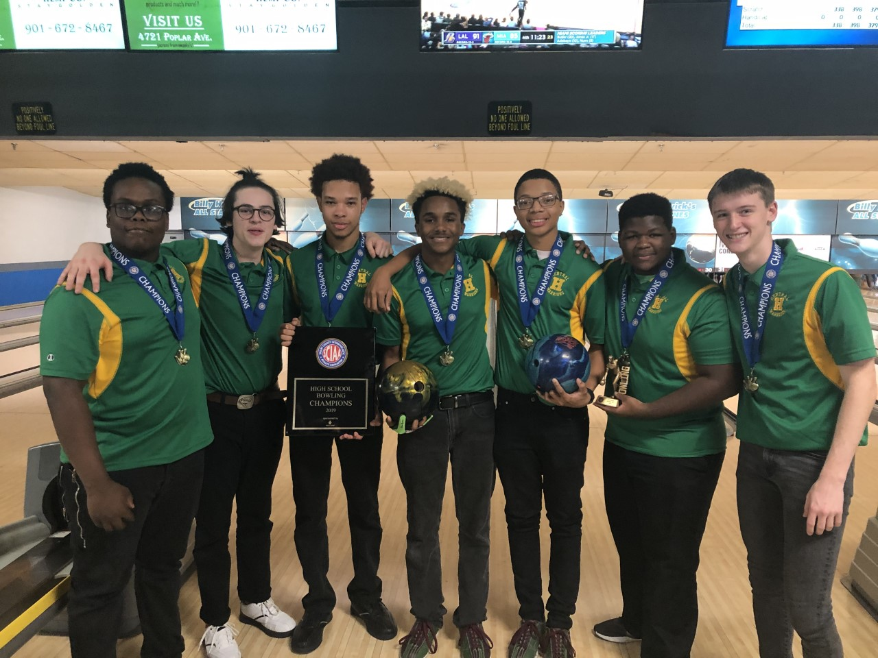 The Boys Bowling Team Captures The SCIAA Championship