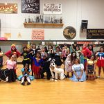Happy Halloween from the Lanier Vikettes