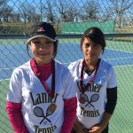 Lanier High School Coed Varsity Tennis finishes 1st place