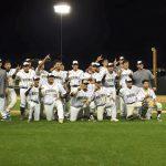 Viking Baseball Completes Sweep of Crockett with 12-6 Win