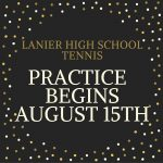 Tennis Begins August 15th!