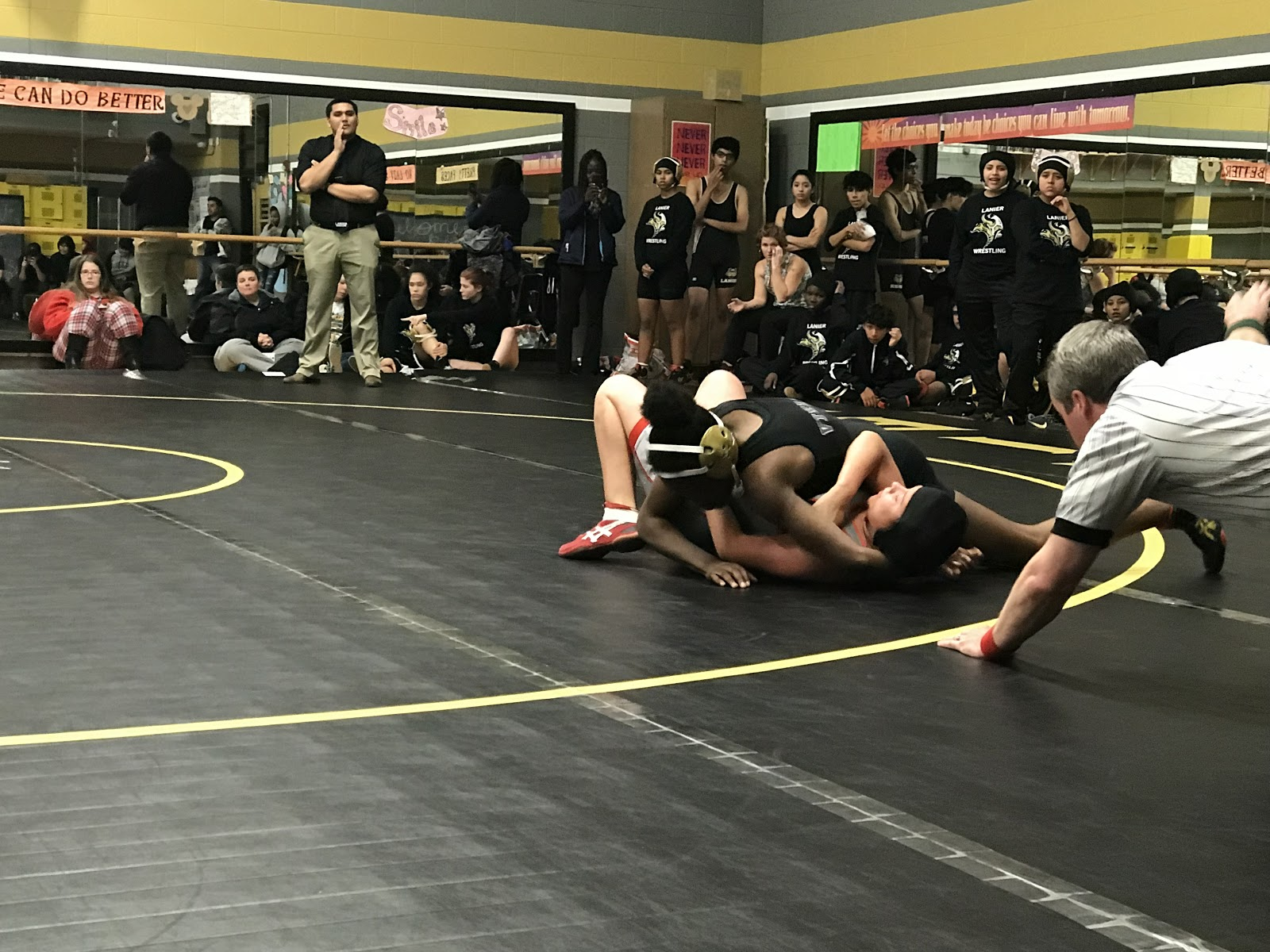 Viking Wrestling Sets Sail In District Home Opener