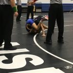 Viking Wrestling Shows Toughness