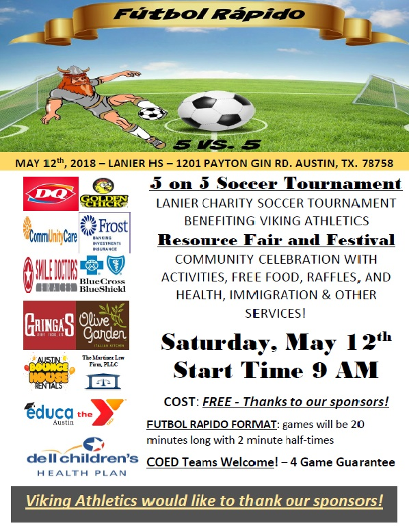 3rd Annual Futbol Rapido and Resource Fair Huge Success