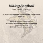 Viking Football Training Camp