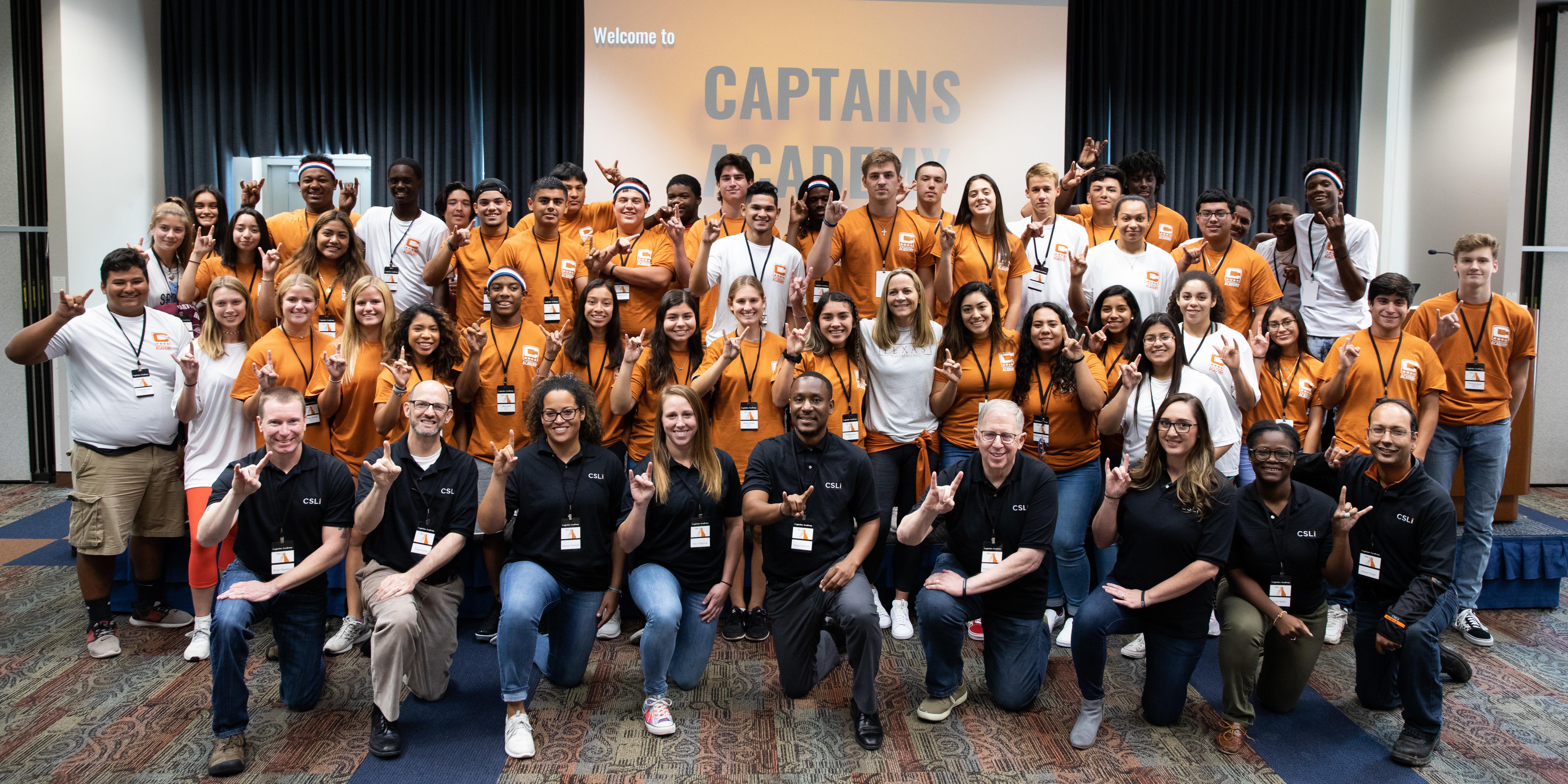 Viking Athletes Attend Leadership Academy at Univ. Texas
