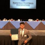 Arellano Honored at NFF Banquet