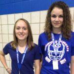 Loyal Bluecat Fans:  Haley and Baylee