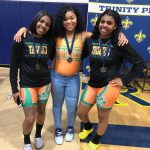 Girls Weightlifting Shine at District Meet