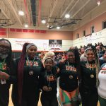 Girls weightlifting place 8th at Regionals