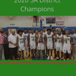 Boys Basketball 2020 5A District Champions