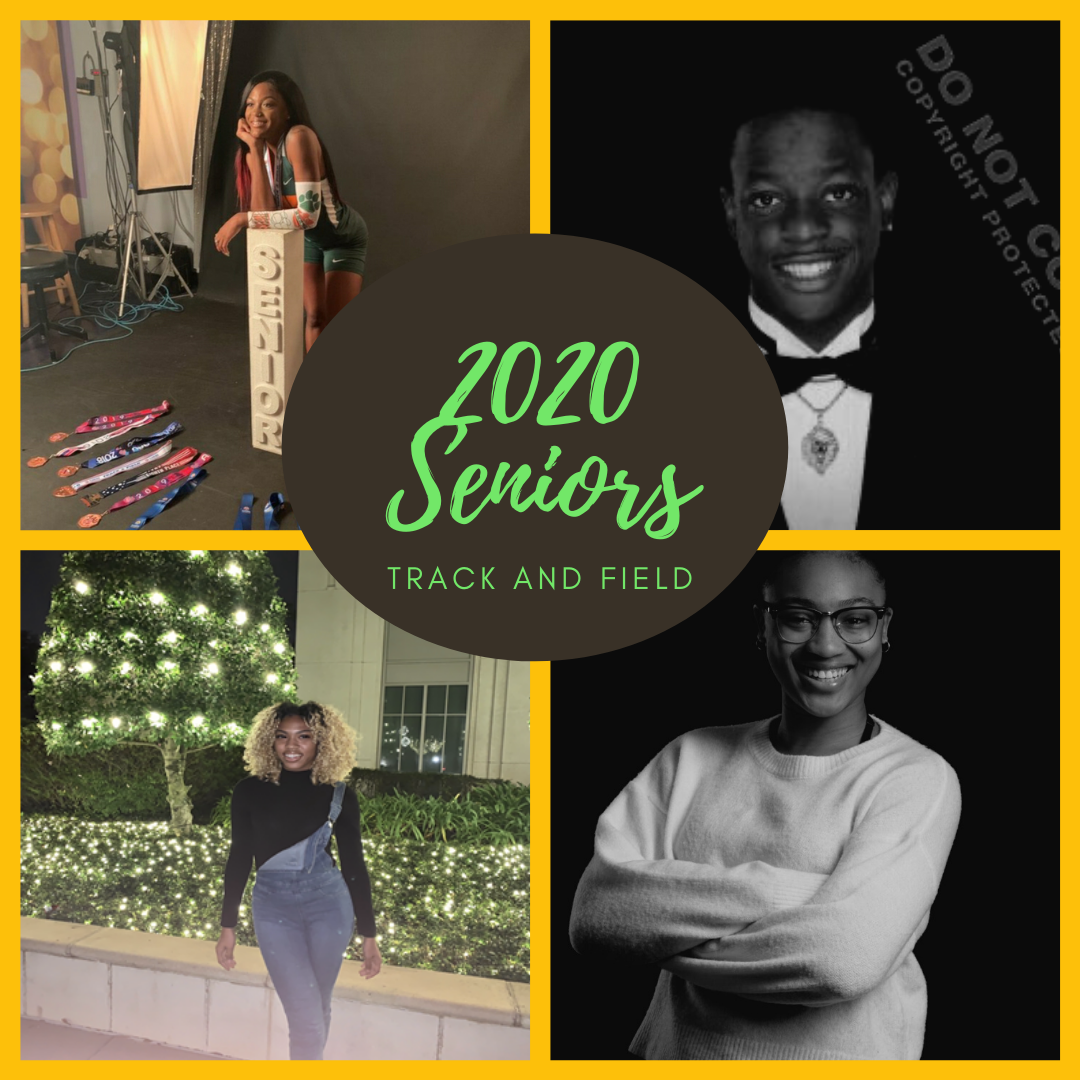 2020 Track and Field Senior Night!
