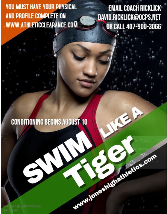 Jones Swim Team