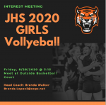 Girls Volleyball Interest Meeting