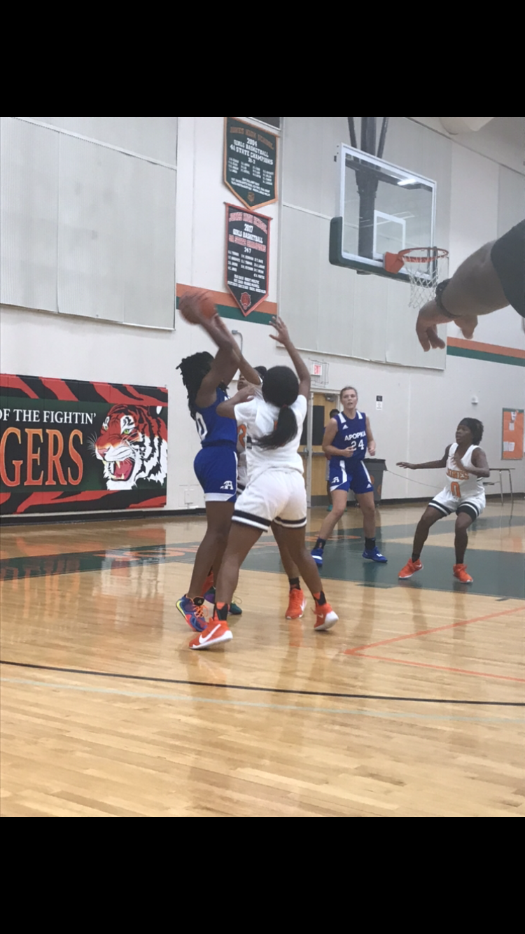 The Lady Tigers Remain Undefeated After Holding Off Apopka Blue Darters