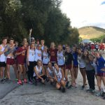 Coed Varsity Cross Country finishes 1st place at Box Elder Meet