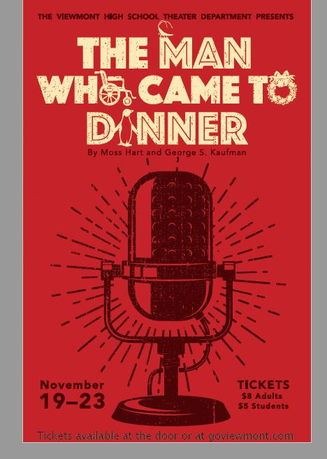 The Man Who Came to Dinner (New Dates)