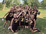 Girls team placed 5th out of 17 Teams-  Weisman 2nd, Barnett 13th at Gibson Southern MS XC Invite