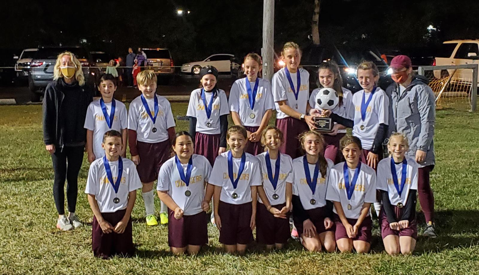 Congratulations Middle School Soccer