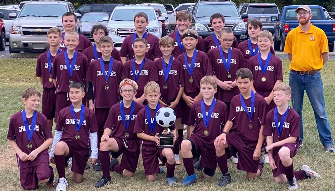 Congratulations to Middle School Soccer!