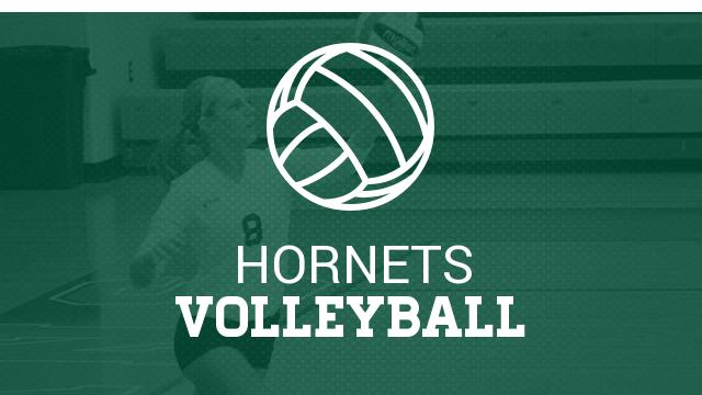 Lady Hornet Volleyball picks up District win on the road.