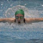 Carter's Annie Rimmer competes in the Women's Butterfly during the 2018 TISCA Tennessee High School Championship