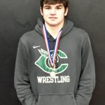 Kobe Jenkins Qualifies for the State Wrestling Tournamenr Feb. 16-17 in Nashville