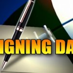 Hornet Footballers sign to play College Football